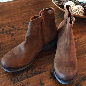 Naot Wander Leather Brown Boots